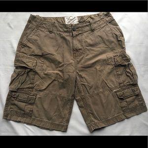 Men's Arizona Jean Co. Khaki Cargo Shorts